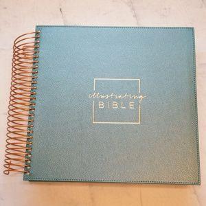 DAYSPRING SPIRAL BOUND ILLUSTRATING BIBLE CSB
